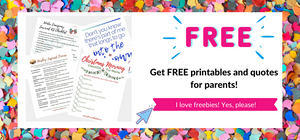 Free Printable Checklists for Parents