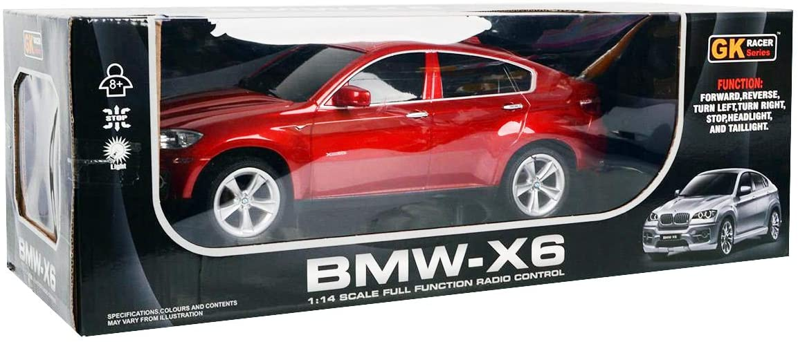 BMW X6 Radio Remote Control 1/24 RC Sports Car