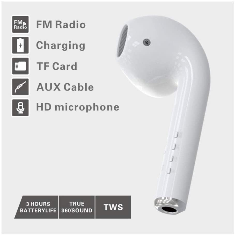 Giant Earphone Bluetooth Speakers (White)