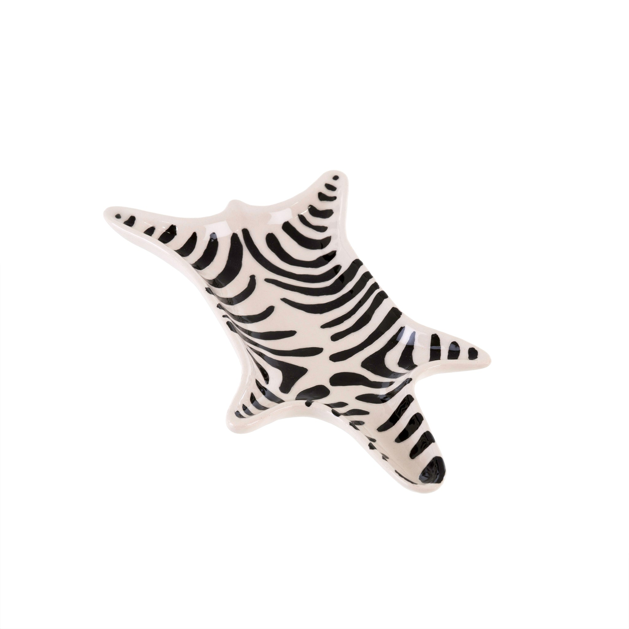Zebra Catch-All Dish