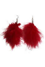 Load image into Gallery viewer, Feather Earrings (6 colors available)