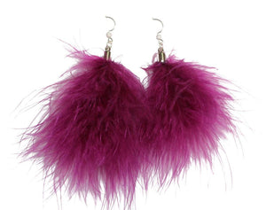 Feather Earrings (6 colors available)
