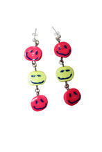 Load image into Gallery viewer, Put on a Happy Face Earrings