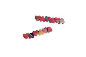 Chewy Heart Barrettes