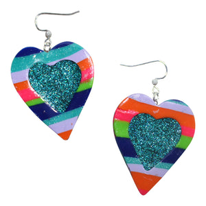 Limited Who? Heart Earrings