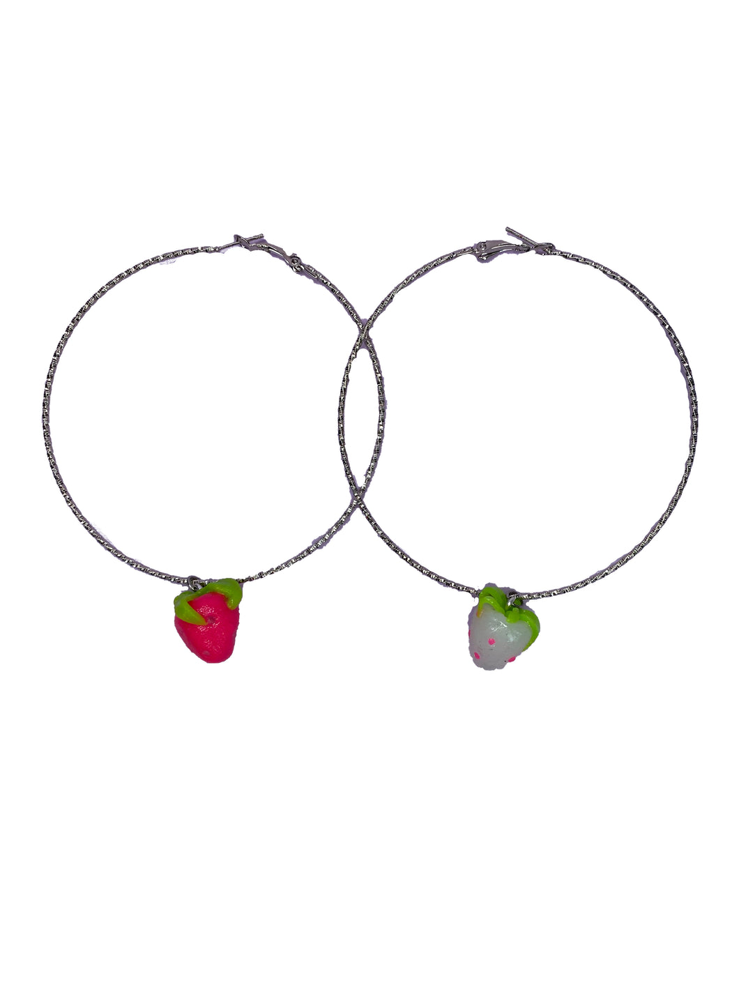 Strawberry Baby Hoops (2 colors available)