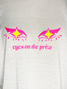 Eyes on the Prize One-of-One Crop Tee