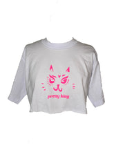 Load image into Gallery viewer, Pretty Kitty One-of-One Crop Tee