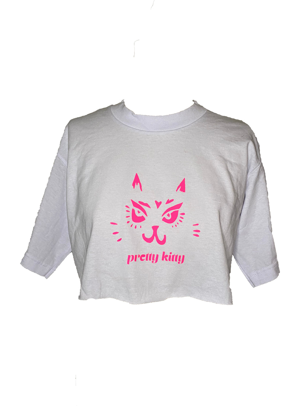 Pretty Kitty One-of-One Crop Tee