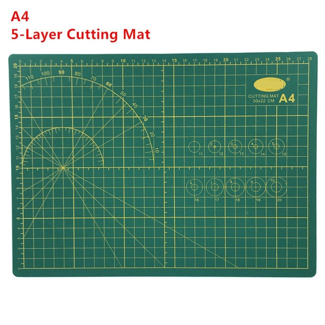 Hobby Modelling Tools - A4 5 Layer Cutting Matt