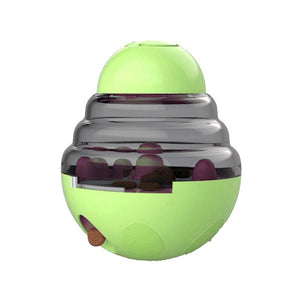 Interactive Cat Toy IQ Treat Ball Smarter Pet Toys Food Ball Food Dispenser For Cats Playing Training Balls Pet Supplies