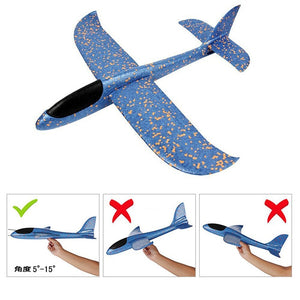 Gliding Airplane Kids Hand Throwing Airplane Outdoor Toys Glider Airplane Kids Gift Toys Interesting Toys Glider Model Toys