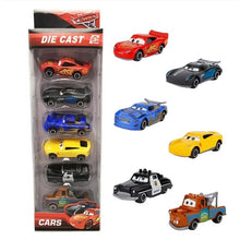 Load image into Gallery viewer, 6pcs set Disney Pixar Cars 3 Lightning McQueen 1:55 Diecast Metal Alloy Model