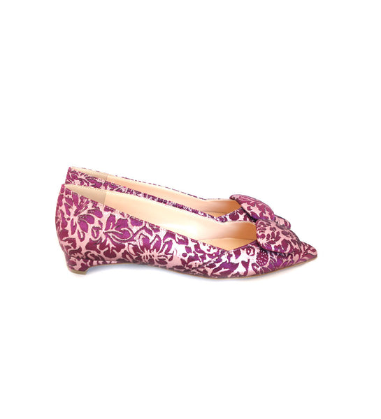 Aga Mulberry Regency Pointy Pumps