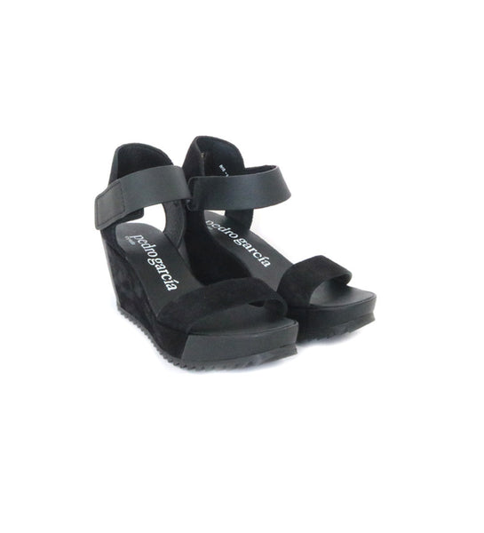 Francesca wedge - Black