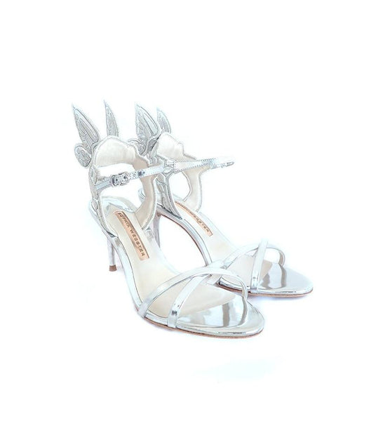Sophia Webster Chiara Embroidery mid sandal