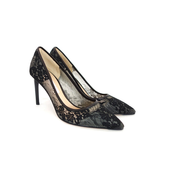 Berlin - Black Lace Pump