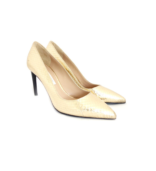 Berlin - Gold snake pump