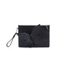 Sophia Webster Flossy Debossed butterfly pouchette black