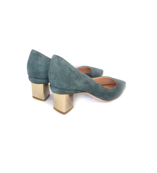 Prism Pump 55mm - Grey Suede