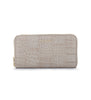 Mr Wallet - Croc Gull Grey
