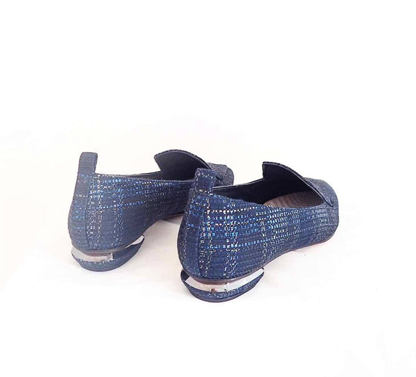 Beya Loafer, Ink metallic