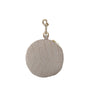 Pom Pom Purse - Croc Gull Grey