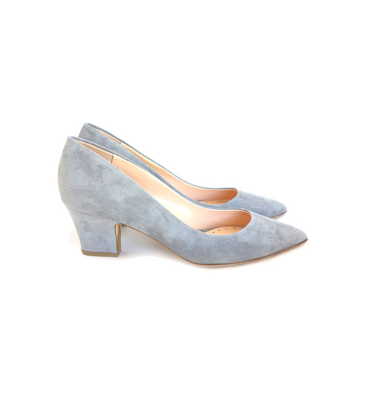 Pierre Pumps in Smokey Suede