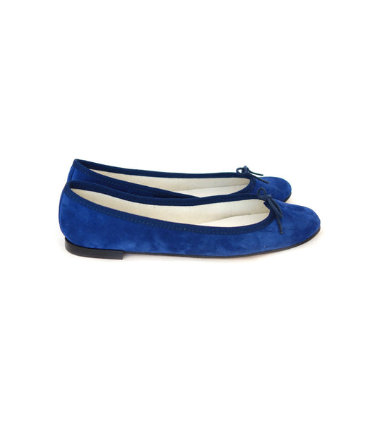Cendrillon - Navy (Suede)