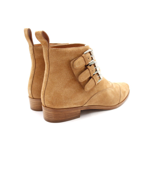 Early Boot - Camel Suede