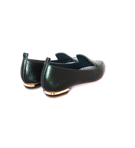 18mm Beya Loafer - Emerald