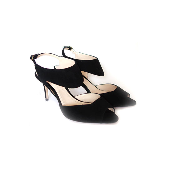 70mm Leda Sandal - Black