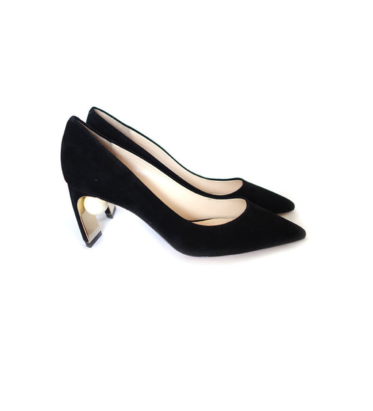70mm Maeva Pearl Pump - Black