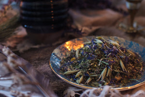 Load image into Gallery viewer, Phosphorescent Blue Herbal Tisane