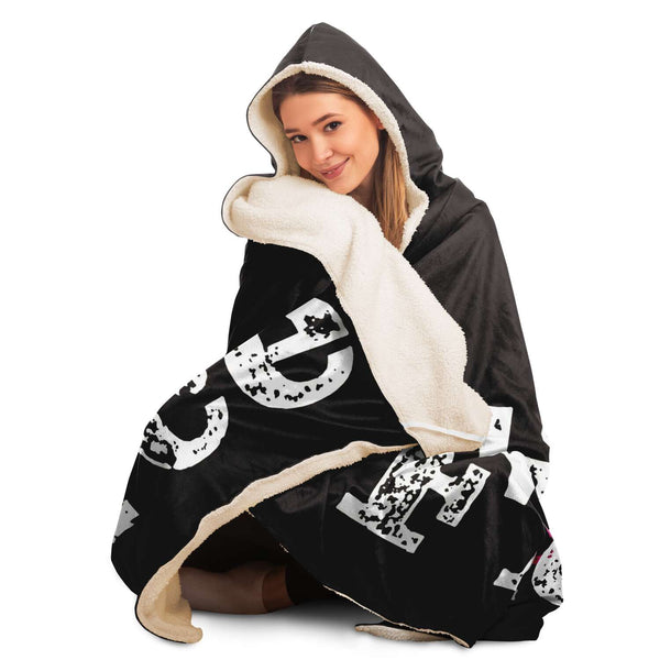 Hooded Blanket - Be Fierce!