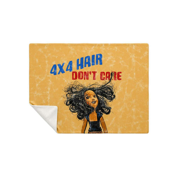 4X4 Hair - Don't Care Blanket