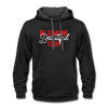 Contrast Hoodie - Be Someone Beautiful Today Red-White - black/asphalt