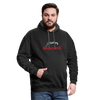 Contrast Hoodie - Problems Are Opportunities White-Red