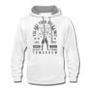 Contrast Hoodie - Army Desert Strong - white/gray