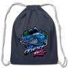 Cotton Drawstring Bag - Fierce Lady 4X4 Owner - Blue-Pink