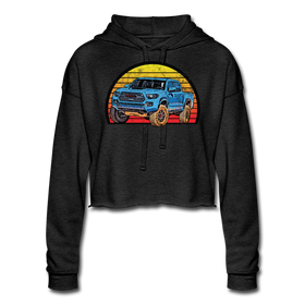 Women's Cropped Hoodie - Fierce 4X4