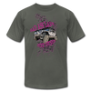 Unisex Jersey T-Shirt - Bad Ass Lady Jeep Owner (Grey Jeep)