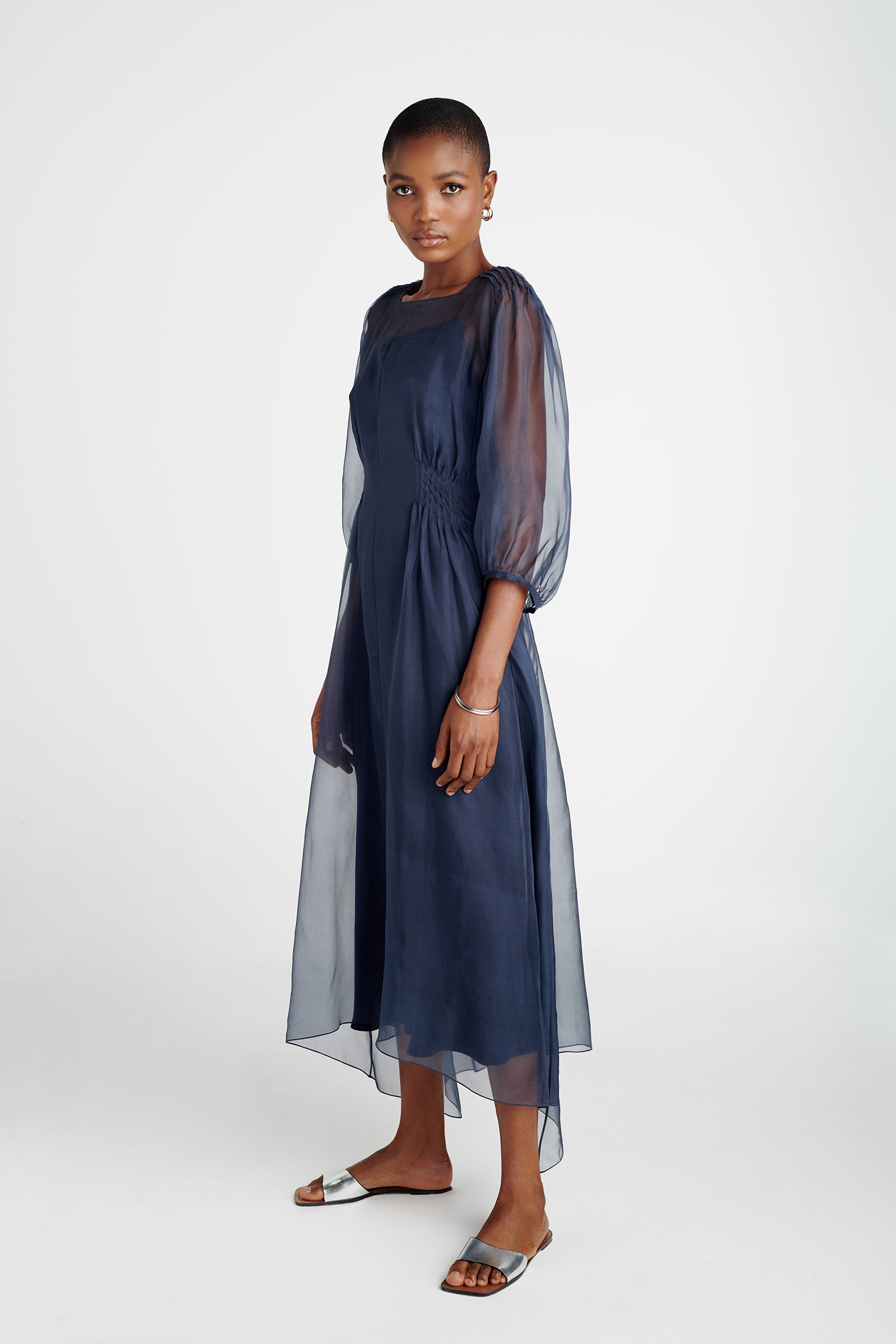 Tempest Pintucked Dress