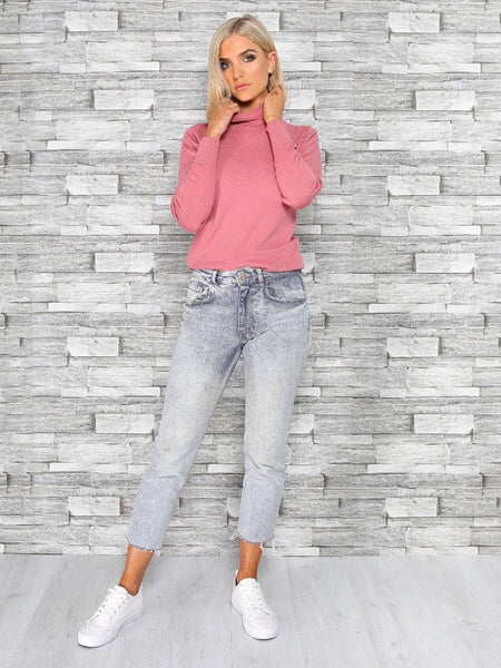 The Patsy Roll Neck Knit