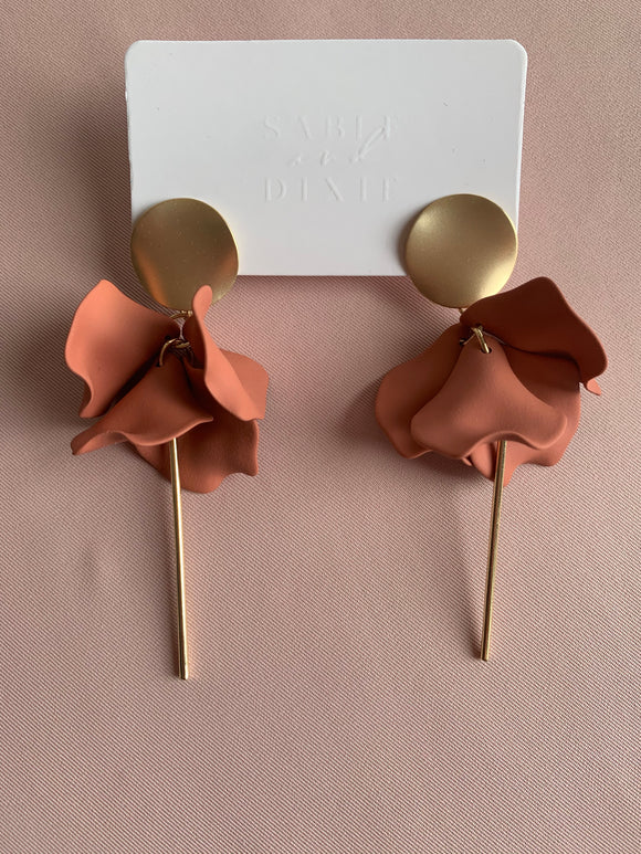 Sable and Dixie ESTA Earing in Clay