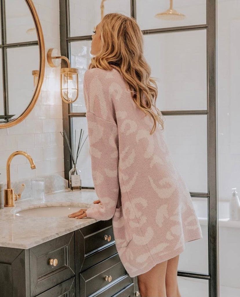 The Blush Cardi