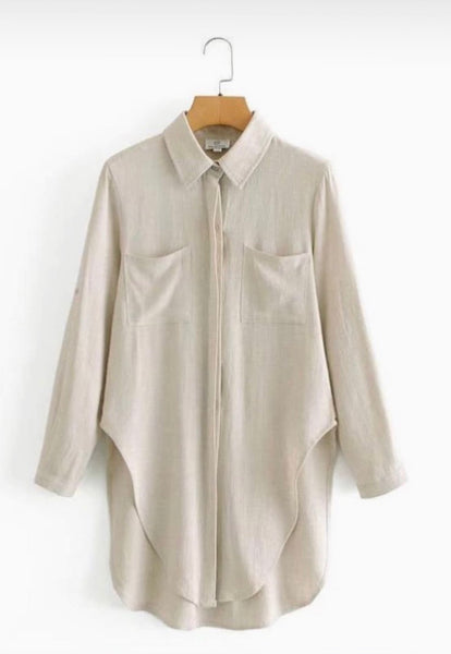 The Charlotte Oversized Shirt
