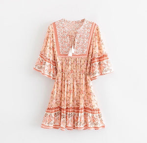 Giselle Dress- Rose