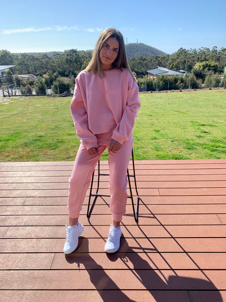 Society Addict blush Joggers
