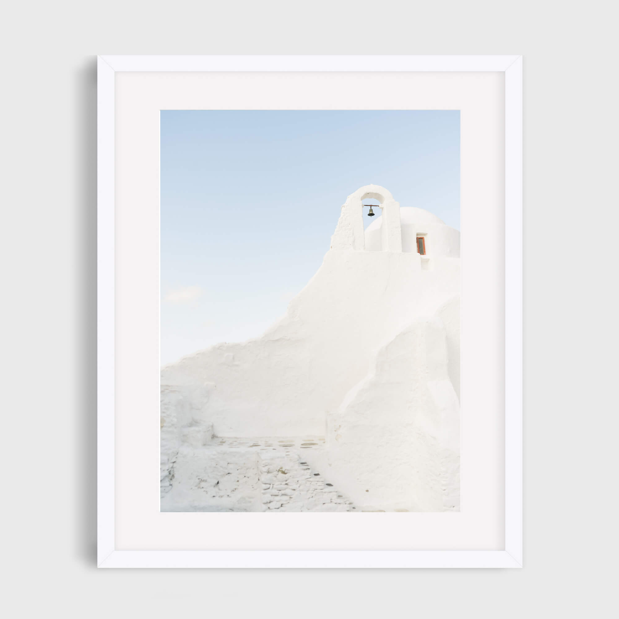 Mikonos Bell Tower - Care Studios Prints
